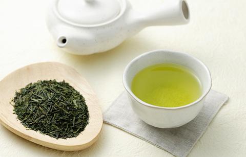 緑茶で皮脂対策!
